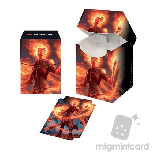 Ultra PRO Magic the Gathering 100+ Deck Box - Core Set 2020 - v4 Chandra, Awakened Inferno - 18107