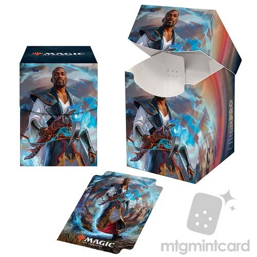 Ultra Pro Magic the Gathering 100+ Deck Box - Core Set 2021 - v2 Teferi, Master of Time - 18366