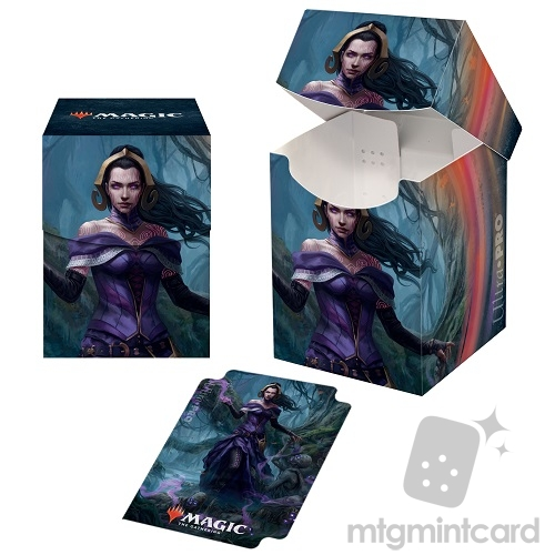 Ultra Pro Magic the Gathering 100+ Deck Box - Core Set 2021 - v3 Liliana, Waker of the Dead - 18367