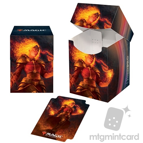 Ultra Pro Magic the Gathering 100+ Deck Box - Core Set 2021 - v4 Chandra, Heart of Fire - 18368