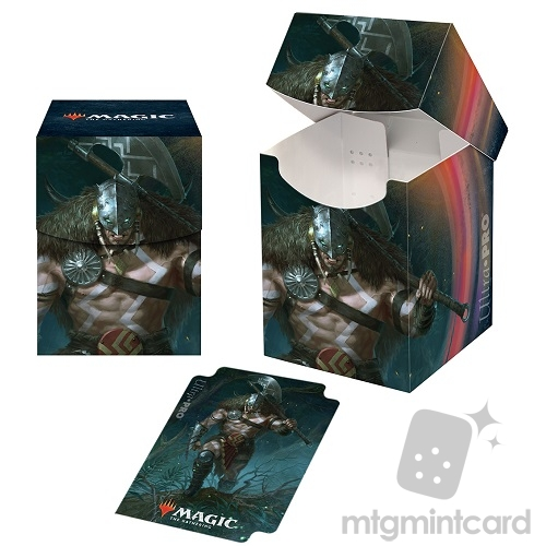 Ultra Pro Magic the Gathering 100+ Deck Box - Core Set 2021 - v5 Garruk, Unleashed - 18369