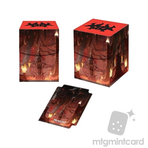 Ultra Pro Magic the Gathering 100+ Deck Box - Guilds of Ravnica - Cult of Rakdos - 86925