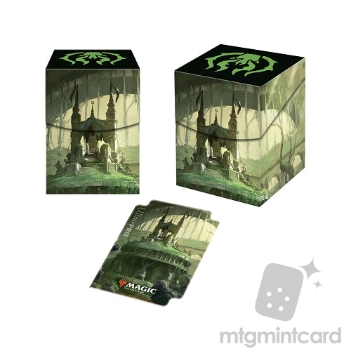 Ultra Pro Magic the Gathering 100+ Deck Box - Guilds of Ravnica - Golgari Swarm - 86897