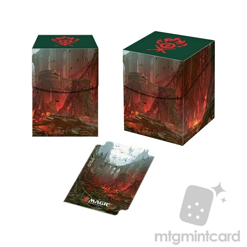 Ultra Pro Magic the Gathering 100+ Deck Box - Guilds of Ravnica - Gruul Clans - 86898