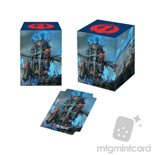 Ultra Pro Magic the Gathering 100+ Deck Box - Guilds of Ravnica - Izzet League - 86923