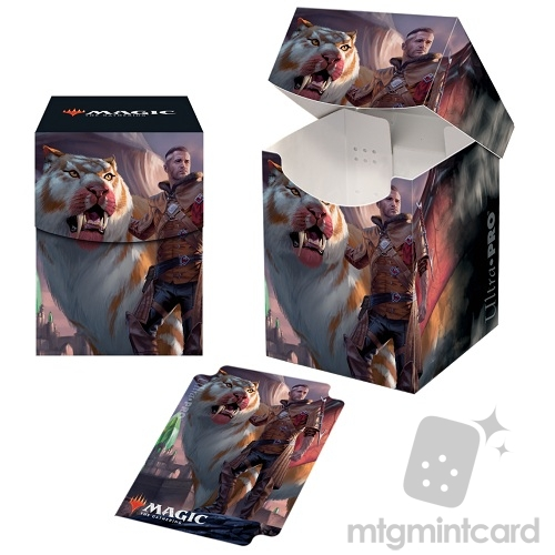 Ultra Pro Magic the Gathering 100+ Deck Box - Ikoria - v1 Lukka, Coppercoat Outcast - 18305