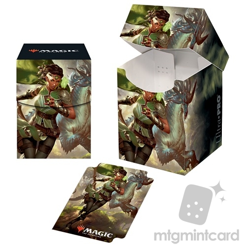 Ultra Pro Magic the Gathering 100+ Deck Box - Ikoria - v2 Vivien, Monsters' Advocate - 18306