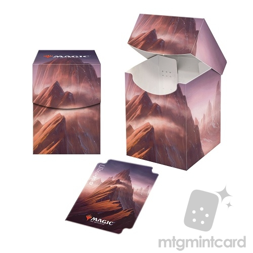 Ultra Pro Magic the Gathering 100+ Deck Box - Unstable - Mountain(John Avon) - 86834