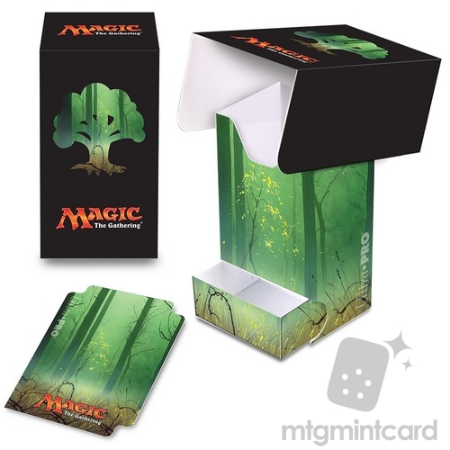 Ultra PRO Magic the Gathering Deck Box with Tray - Mana 5 - Forest - 86535