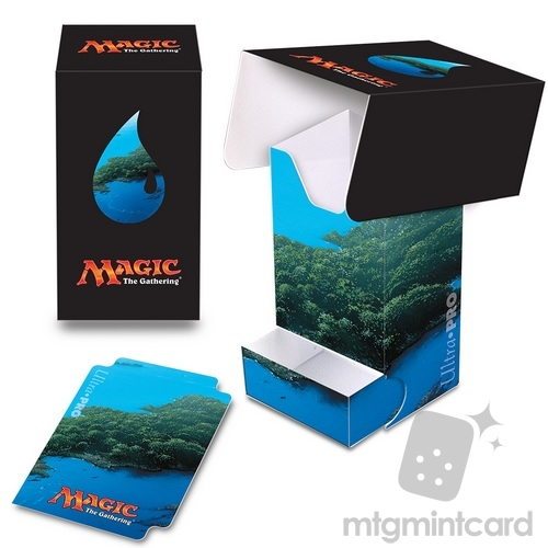 Ultra PRO Magic the Gathering Deck Box with Tray - Mana 5 - Island - 86532