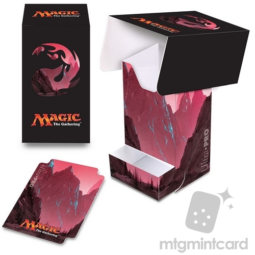 Ultra PRO Magic the Gathering Deck Box with Tray - Mana 5 - Mountain - 86534