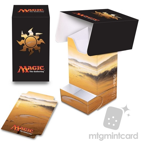 Ultra PRO Magic the Gathering Deck Box with Tray - Mana 5 - Plains - 86531