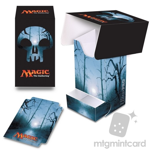 Ultra PRO Magic the Gathering Deck Box with Tray - Mana 5 - Swamp - 86533