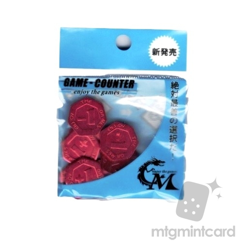 Card Master - Game Counter - Red