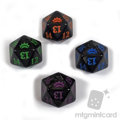 20-SIDED LIFE COUNTER DICE SET Planechase Anthology