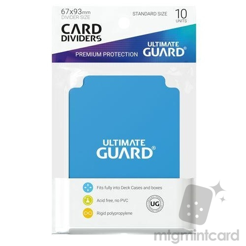 Ultimate Guard Card Dividers - Light Blue - UGD010456