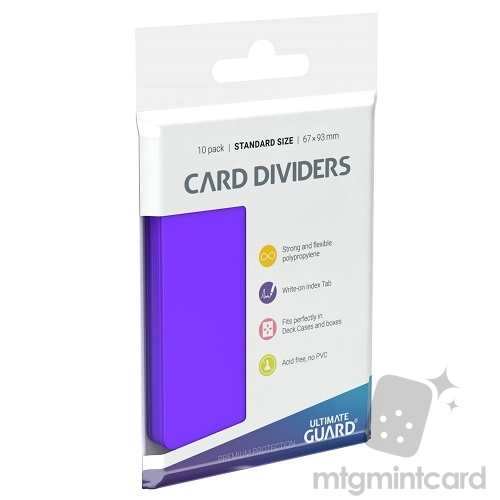 Ultimate Guard Card Dividers - Purple - UGD010454