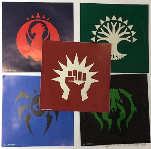Magic the Gathering Guilds of Ravnica Guild Kits - Sticker Set