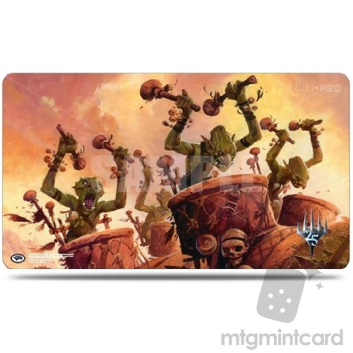 Ultra PRO Magic the Gathering Playmat - Masters 25 - v3 Goblin War Drums- 86747