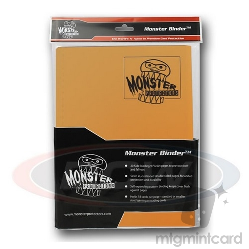 BCW - Monster Protectors Binder 9-Pocket - Matte Gold - MB-9P-MGO