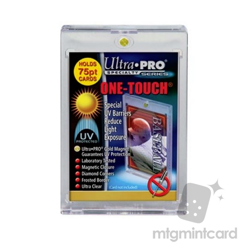 Ultra PRO One-touch Magnetic Card Holder -  75 pt - 81910-UV