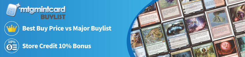 Buylist - Sell Your Cards to Us!