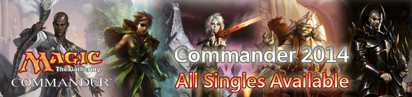 Commander 2014 Singles Available