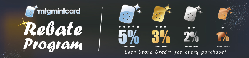 Store Credit Rebate Program
