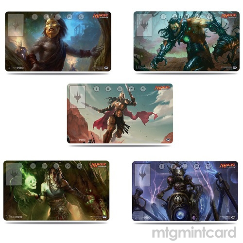 Ultra Pro Magic the Gathering Commander 2015 Playmat Combo Set