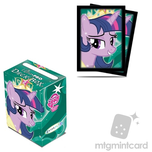 Ultra Pro - My Little Pony - Twilight Sparkle Sleeves & Deck Box Package