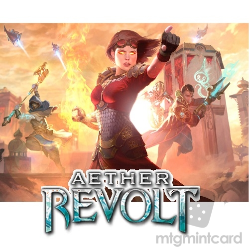 Aether Revolt AER Complete Set with Mythics and Token x4