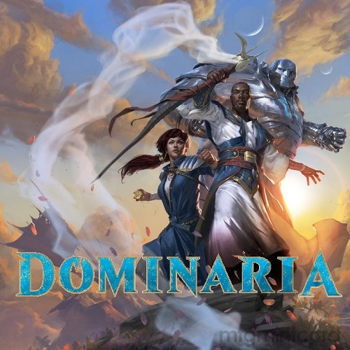 Early Bird Dominaria DOM Uncommon and Common Set x4 & UltraPro Magic Sleeves 1 pack