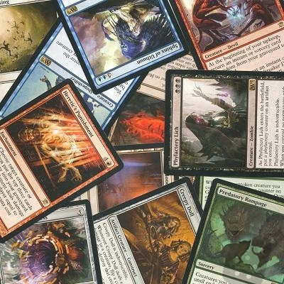 500 Magic The Gathering Rare Card Lot Collection