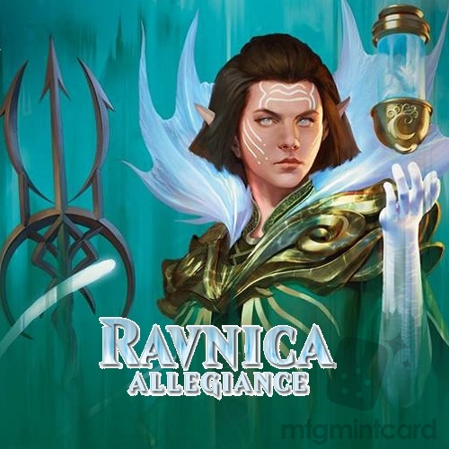 Ravnica Allegiance RNA Complete Set with Mythics x4 and Token x4