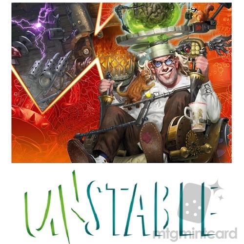 Unstable UST Uncommon and Common Set magic MTG without basic land