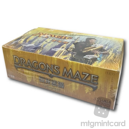 Dragon's Maze DGM Booster Box (Simplified Chinese)
