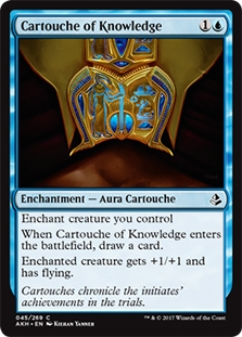 Cartouche of Knowledge