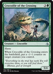 Crocodile of the Crossing
