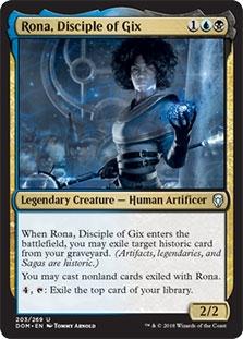 Rona, Disciple of Gix