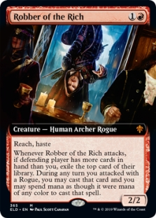 Robber of the Rich (Extended Art)