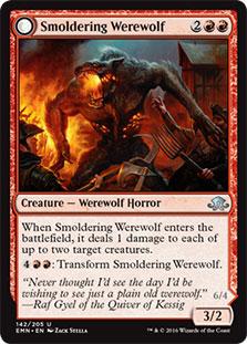 Smoldering Werewolf