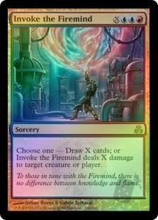 Invoke The Firemind Guildpact English Foil Singles Magic The