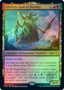 Klothys, God of Destiny (Theros Beyond Death Prerelease)