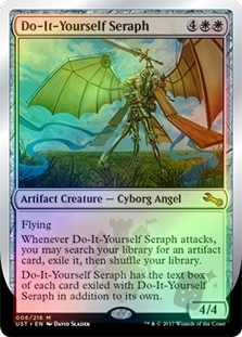 Do it yourself seraph unstable english foil singles magic the do it yourself seraph solutioingenieria Gallery