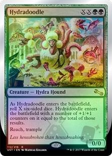 HYDRADOODLE X4 Unstable Magic MTG MINT CARD