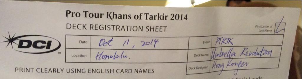 Deck Registration