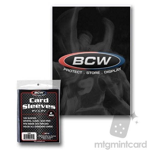 BCW - 100 - Standard Card Sleeves - 1-SSLV