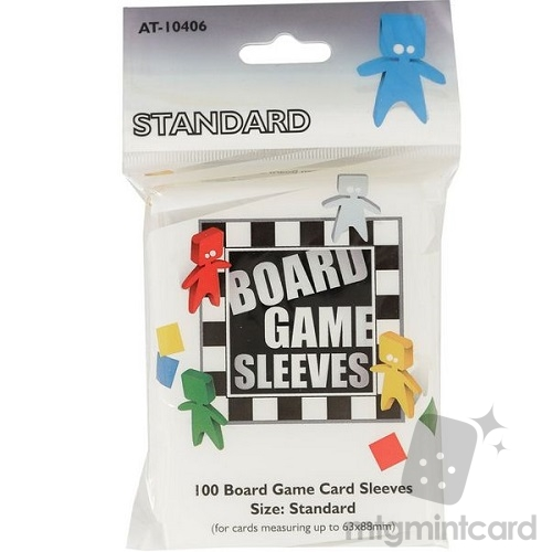 Arcane Tinmen 100 - Board Game Card Sleeves - 63mm x 88mm - Standard - AT-10406