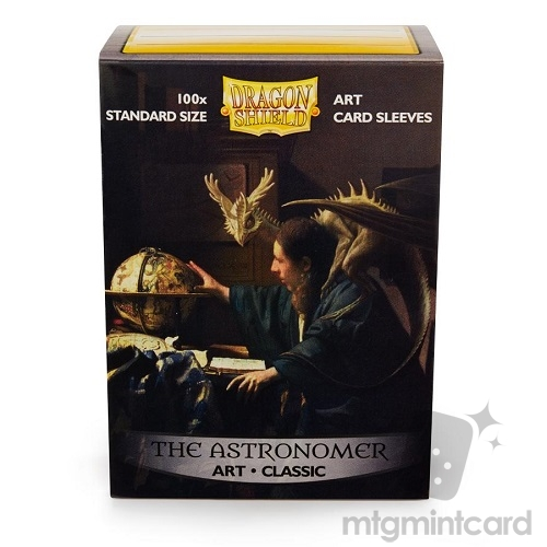 Dragon Shield 100 - Standard Deck Protector Sleeves - Art Sleeve The Astronomer - AT-12014