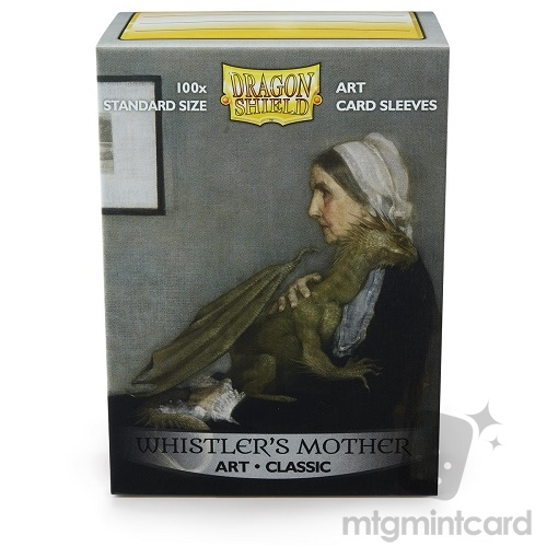 Dragon Shield 100 - Standard Deck Protector Sleeves - Art Sleeve Whistler's Mother - AT-12017